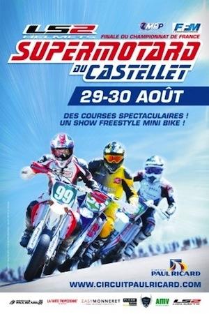 Championnat de France de Supermotard 2015: du beau monde pour la finale au Castellet