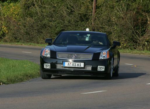 Essai vidéo - Cadillac XLR-V : elle XLR-Vite