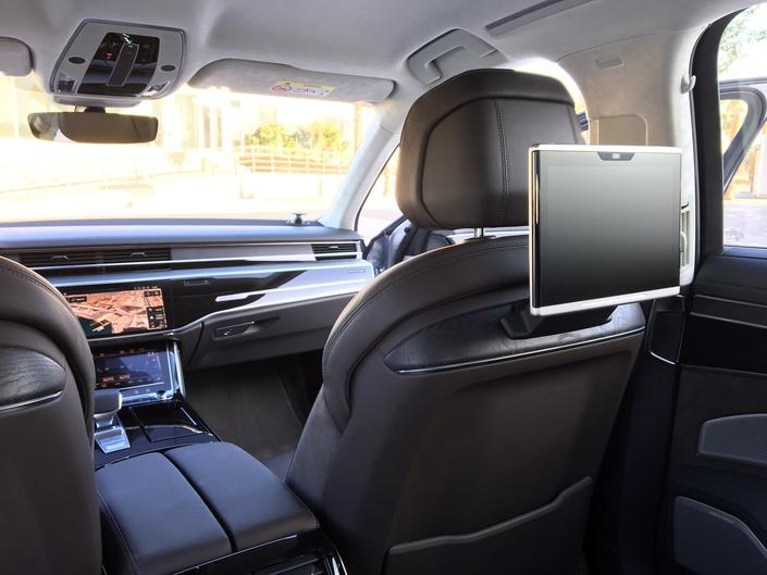 Audi A8 (2017): les premières images de l'essai