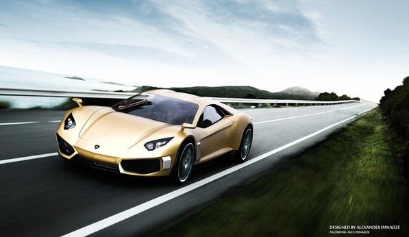 Lamborghini concept par Alex Imnadze: elle vaut le détour!