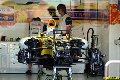 Formule 1 - Australie: Renault a son aileron en W !
