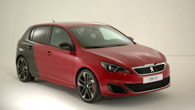 peugeot 308 gti caradisiac a pu la conduire vid o exclusive. Black Bedroom Furniture Sets. Home Design Ideas