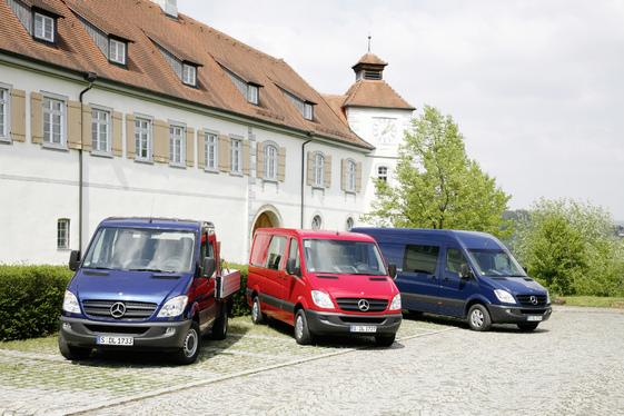 Essai - Nouveau Mercedes Sprinter Euro 5