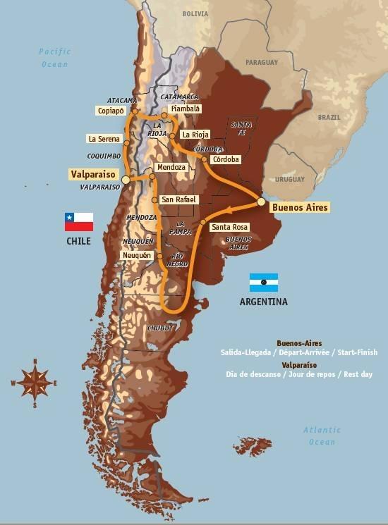 Dakar 2009 : le parcours dévoilé et les inscriptions sont ouvertes