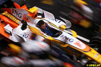 Formule 1 - Australie Renault: Les détails sur l'aileron