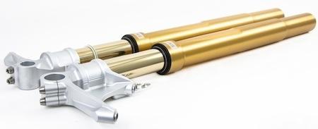 Ohlins: kit fourche ou fourche complète pour la Yamaha R1 (2015)
