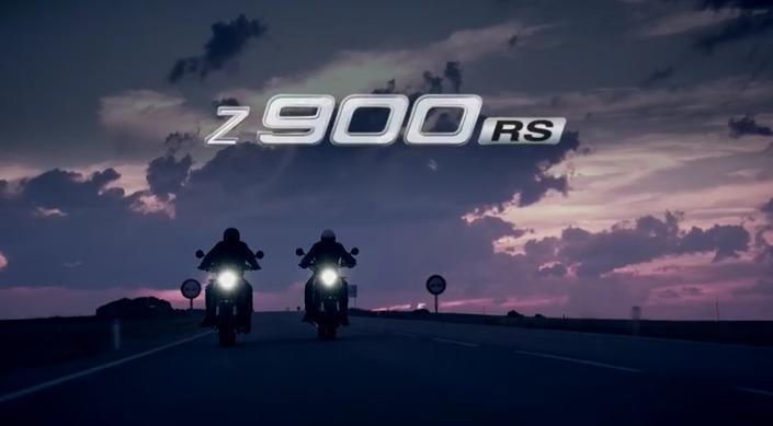 Nouveauté 2018, Kawasaki Z900RS: le teaser n°2