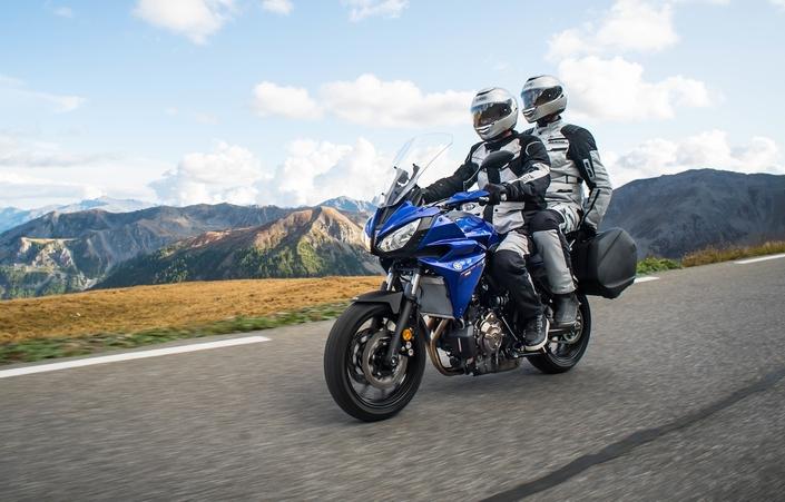 Une Tracer pour le voyage: voici la Yamaha Tracer 700 GT