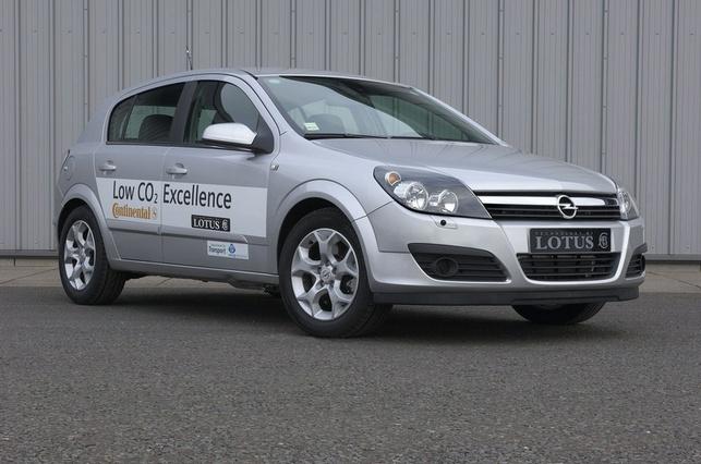 Lotus Engineering/Continental Division Powertrain : zoom sur le Lotus Low CO2 Excellence Concept