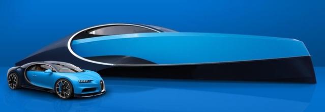 Bugatti présente un yacht à poêle