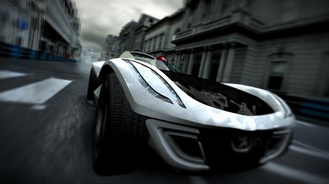 Jeux vidéos : vous pouvez piloter la Peugeot Flux 2007 dans Project Gotham Racing 4 !