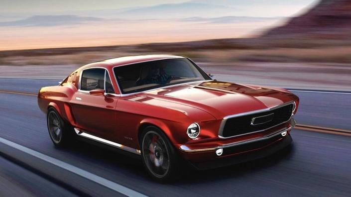 Des Russes lancent une Ford Mustang électrique