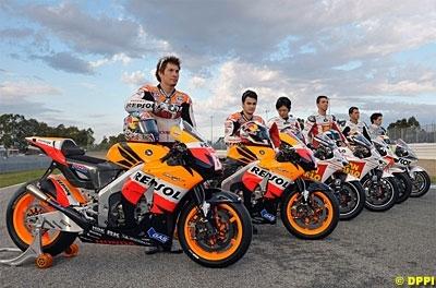 Moto GP - France: Pas de nouveau moteur chez Honda