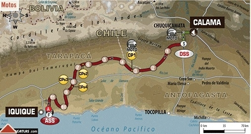 Dakar 2014 - Etape 8 : le ciel s'éclaircit pour Cyril Desprès