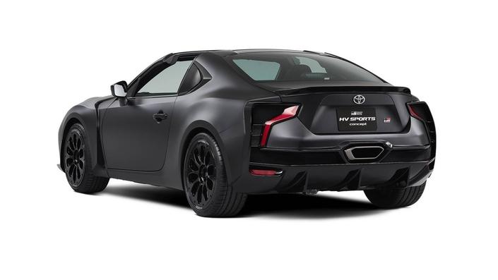 Toyota GR HV Concept Sports : le potentiel futur de la GT86
