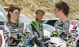 Quand le motoGP rencontre le Motocross