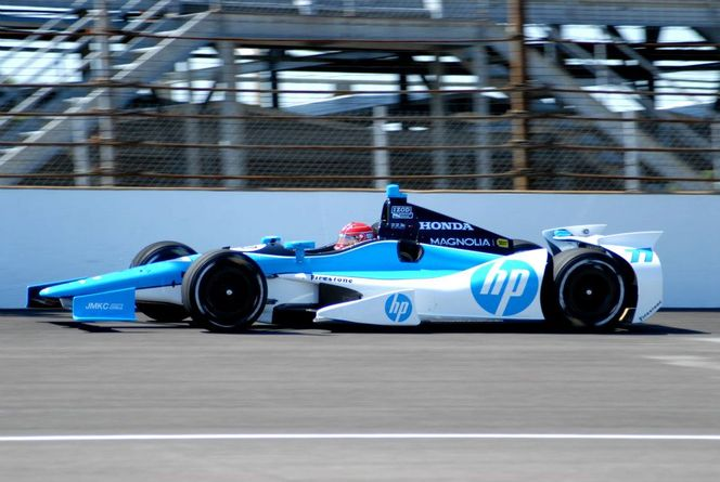 Tristan Vautier en essais en Indycar