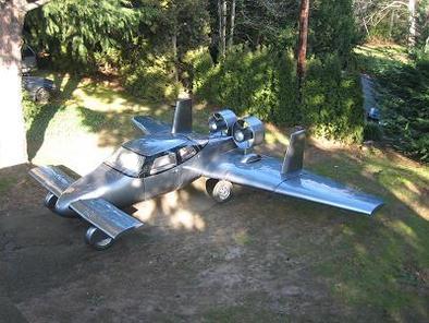 Salon de New York 2008 : la AirCar de Milner Motors peut s'envoyer en l'air !