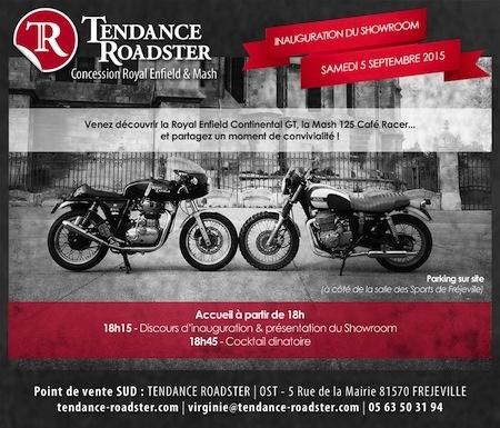Tendance Roadster inaugure son nouveau showroom samedi 5 septembre à Fréjeville