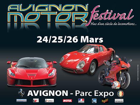 Agenda : l'Avignon Motor Festival vous donne rendez-vous