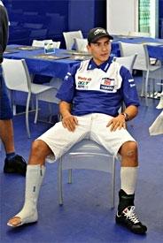 Moto GP - France D.1: Lorenzo s'est fait peur