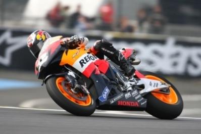 Moto GP - France D.1: Pedrosa scrute le ciel