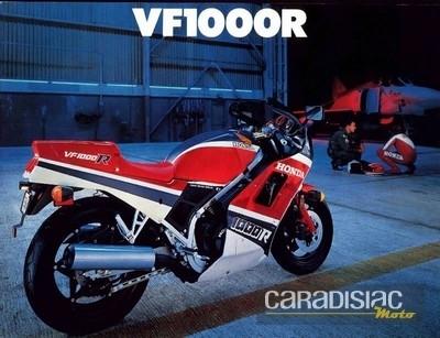 Honda: les motos de plus de 100 ch d'avant la loi.