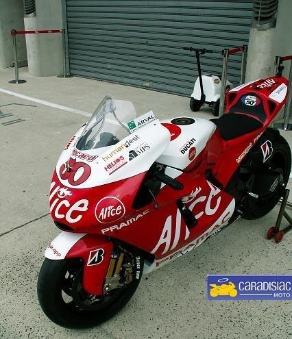 Exclusivité Caradisiac Moto, Sylvain Guintoli sur sa moto
