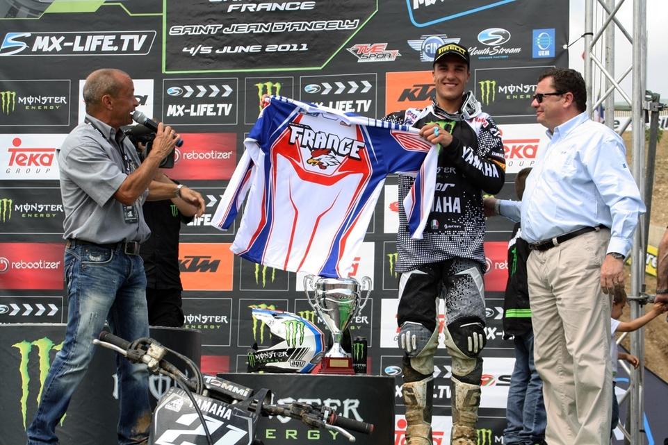 MXDN 2011 : le maillot de l'équipe de France dévoilé