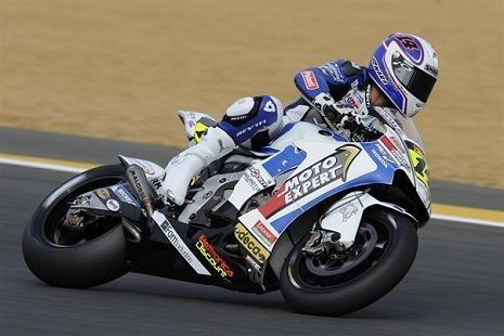Moto GP - France D.1: Randy en bleu, blanc, rouge