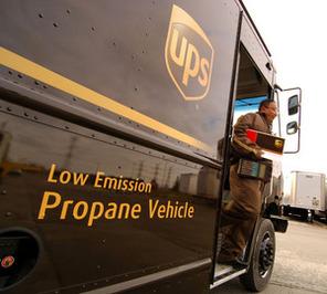 UPS Canada : gros plan sur sa flotte de véhicules au propane