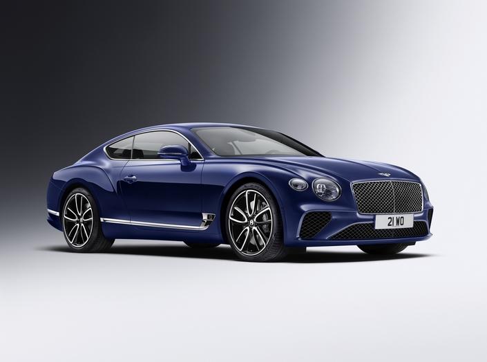 Les possibilités de personnalisation de la Continental GT n'ont quasiment pas de limites.