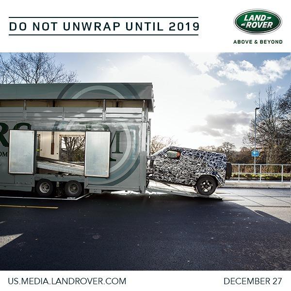 Land Rover annonce le nouveau Defender