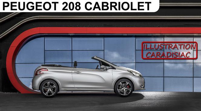 Peugeot préparerait une 208 Cabriolet pour 2015