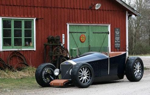 SEMA Show 2008 : Volvo Jacob Hot Rod flexi-fuel de Caresto