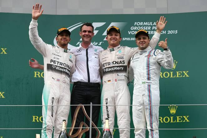F1 - GP d'Autriche : c'était le tour de Nico Rosberg