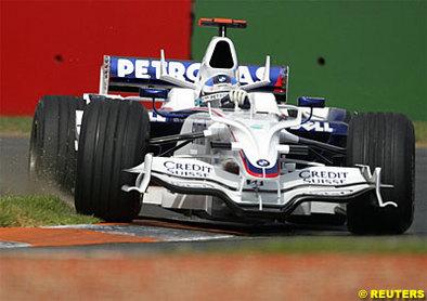 Formule 1 - Australie D.2: BMW a son objectif annuel déjà en vue
