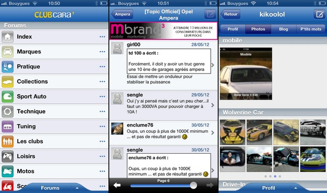 La Communauté de Caradisiac a son application iPhone