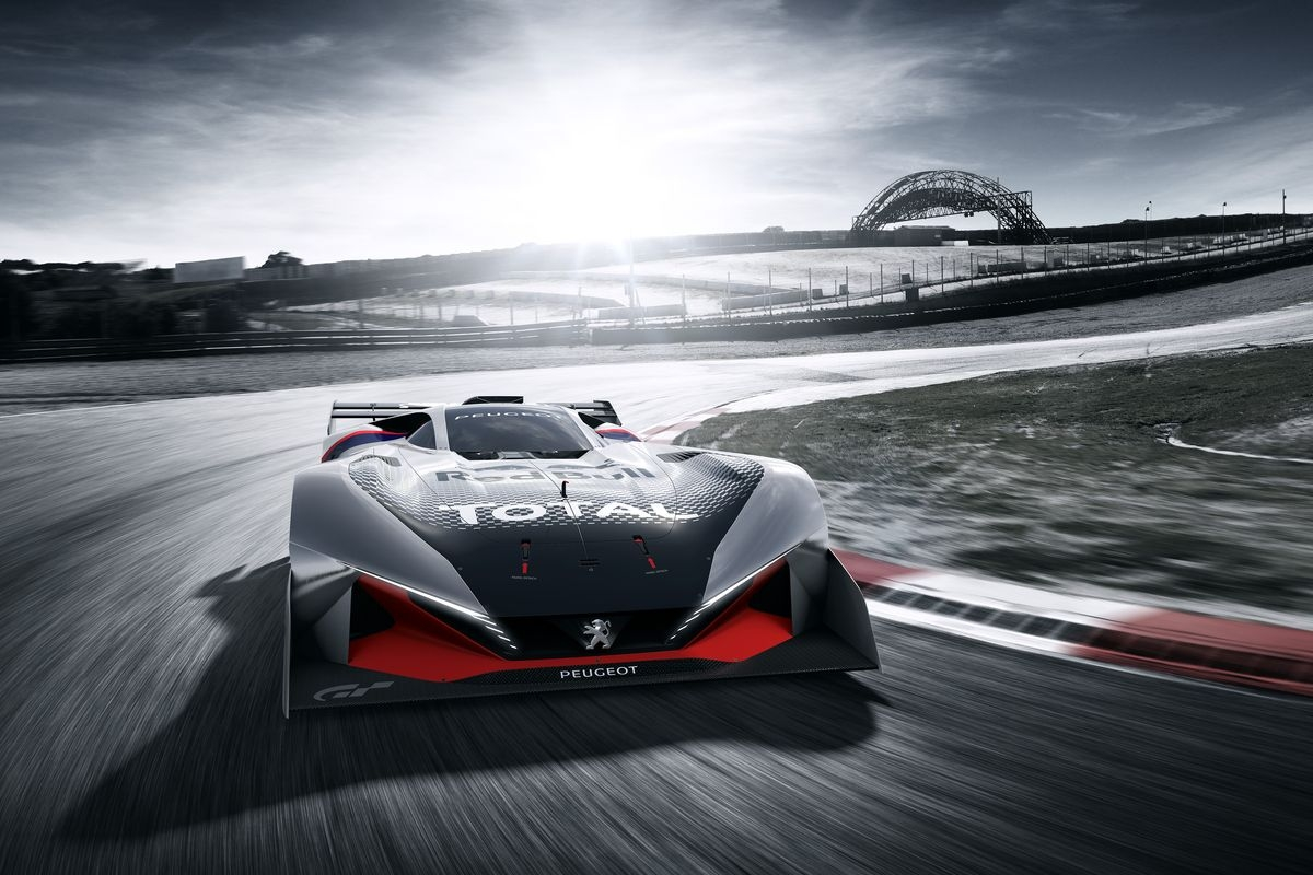 Peugeot lâche la L750 R HYbrid Vision Gran Turismo