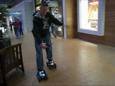 iShoes : prendre son pied en se déplaçant de façon électrique !