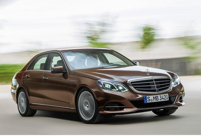 Mercedes Classe E restylée : la voilà, en avance
