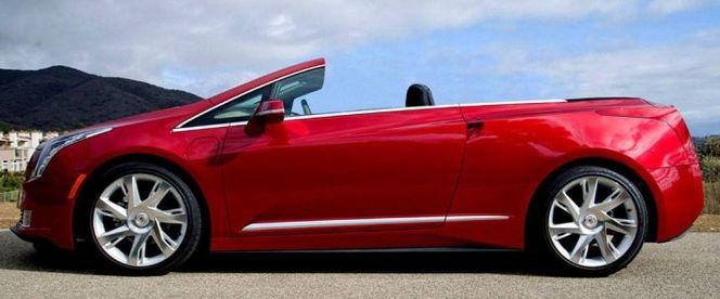 NCE coupe la tête de la Cadillac ELR