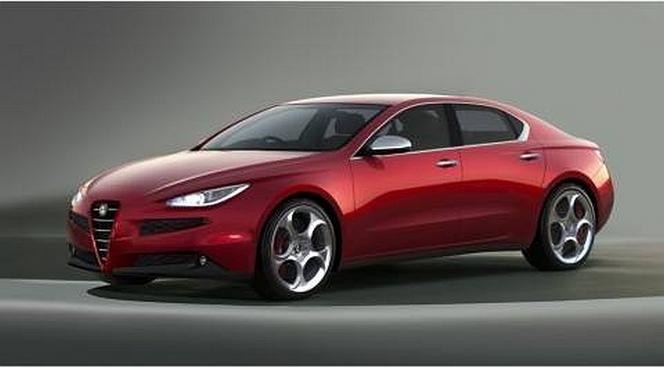 Nouvelle berline Alfa Romeo : comme ça ?