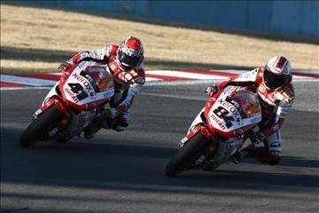 Superbike - Ducati: Haga et Fabrizio remettront ça en 2010