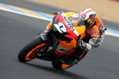 Moto GP - France D.3: Pedrosa, pour la première fois sans podium
