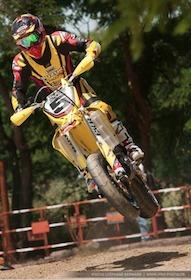 Supermotard championnat de France 2011, Roche de Glun : Boris Chambon.