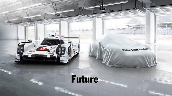 Est-ce la Porsche 717 qui se cache là-dessous ?
