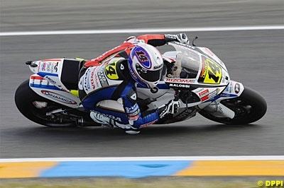 Moto GP - France: Pour Randy, le public est resté assis