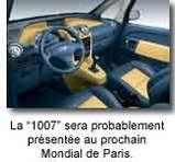 "Peugeot baptise la ""1007"""