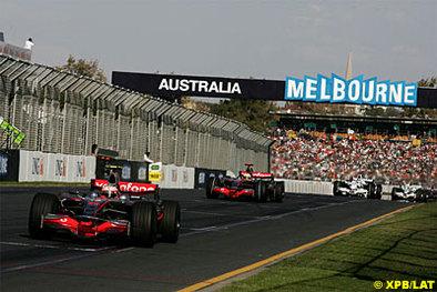 Formule 1 - Australie McLaren: Pas de pression pour Lewis et mains baladeuses pour Heikki